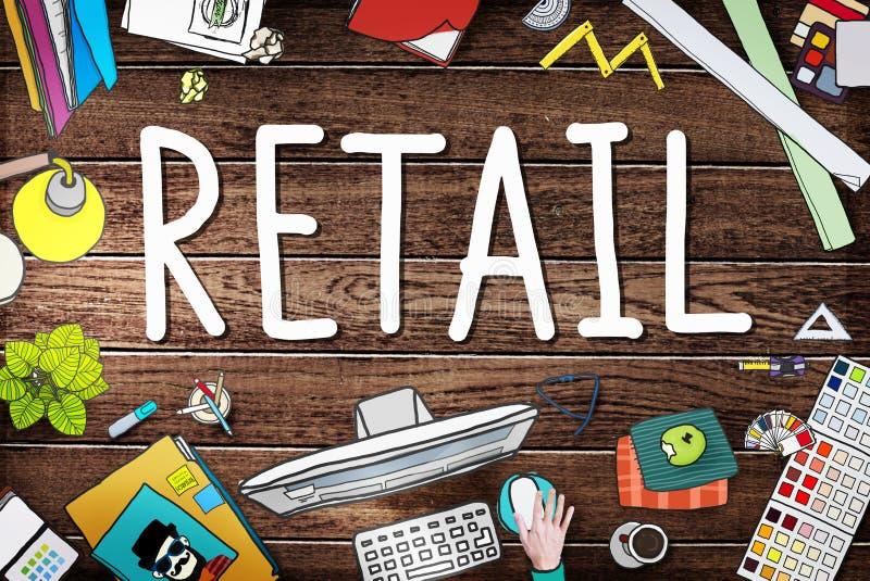 Retail Market Price Consumer Buying Concept.  stock photo
