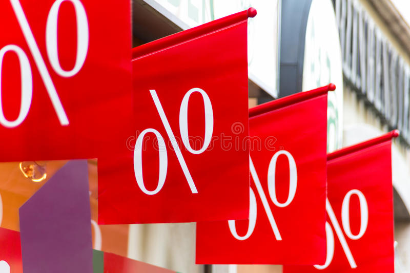 Download Retail Price Drop In Percentage Stock Photo - Image: 30414302