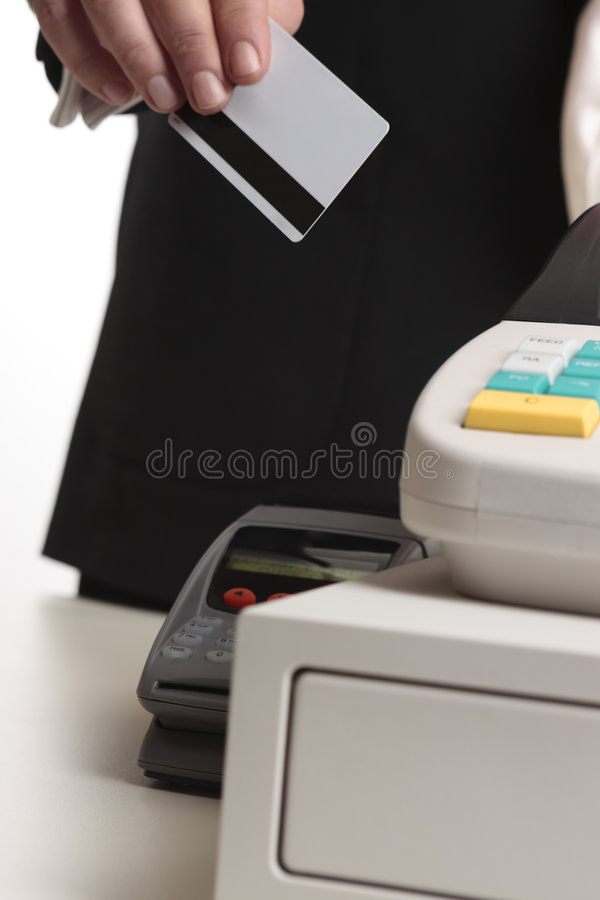 Download Retail purchase with card stock image. Image of businessman - 6848727