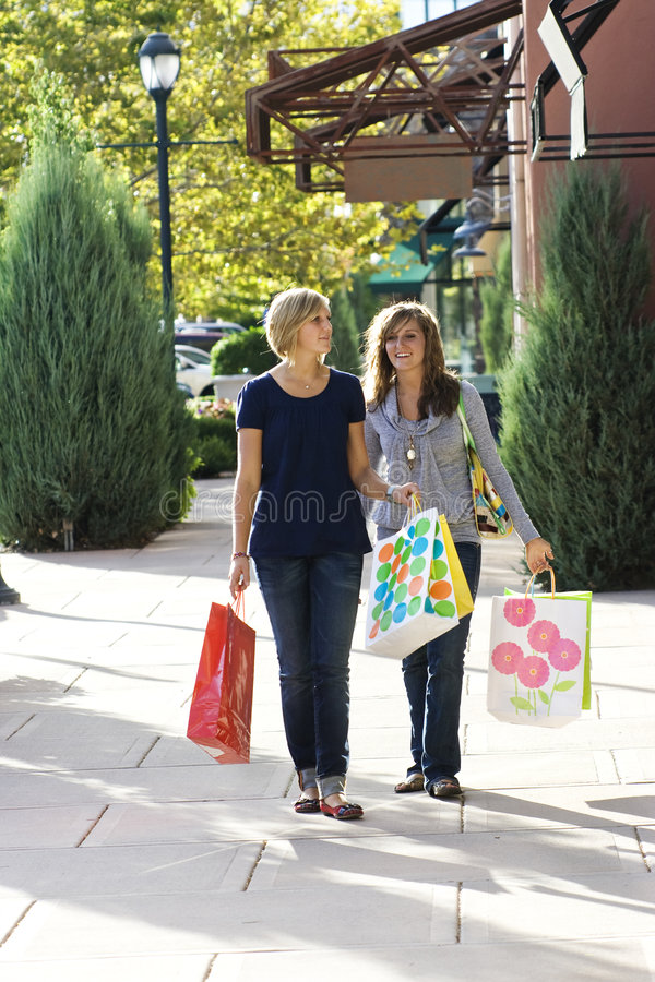 Download Retail Shoppers stock photo. Image of friendship, enjoyment - 6461152