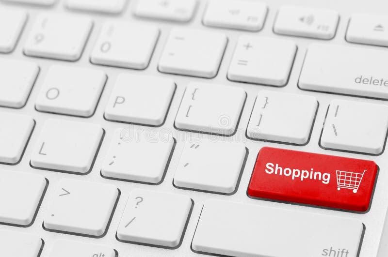 retail shopping cart icon button stock photos