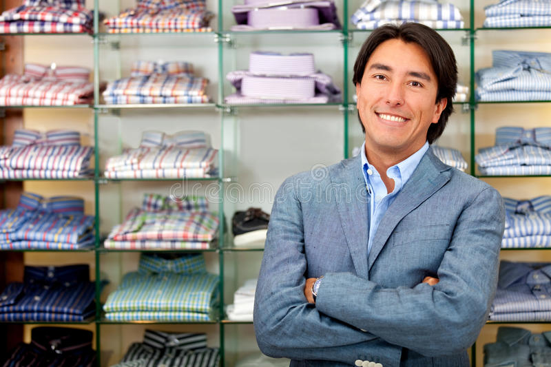 Download Retail store manager stock photo. Image of clothes, people - 21962548