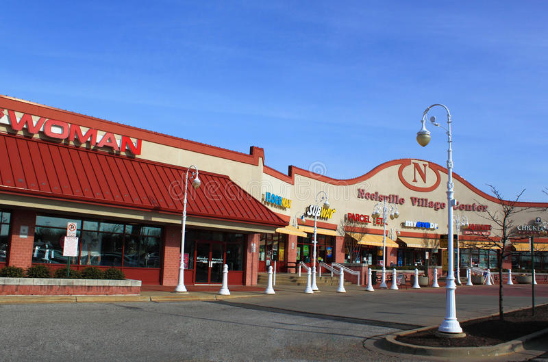 Download Retail Stores In Shopping Plaza Editorial Image - Image: 23297315
