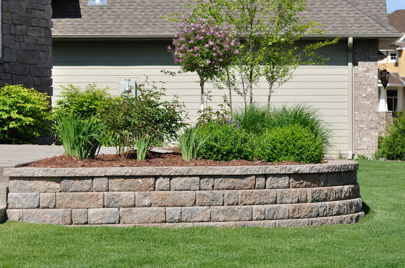 Retaining Wall royalty free stock images