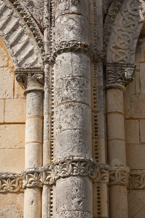 Retaud-Kirchendetail stockbilder