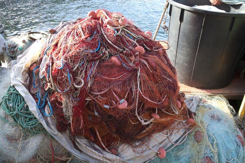 Rete da pesca fotografia stock immagine di barca colore for Rete da pesca arredamento