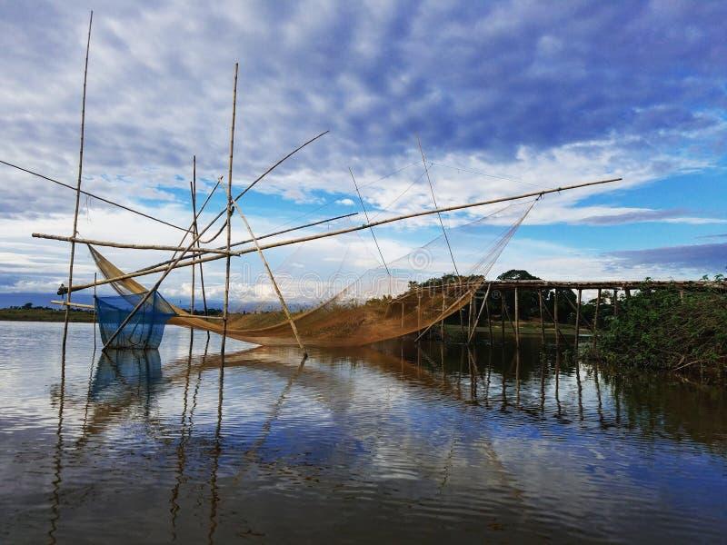 Rete da pesca fotografie stock libere da diritti