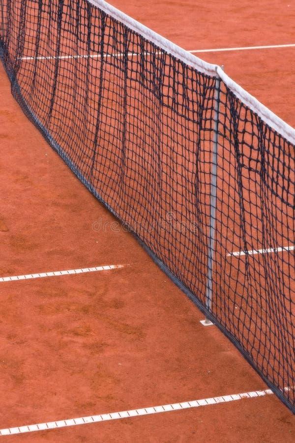 Rete di tennis fotografie stock libere da diritti