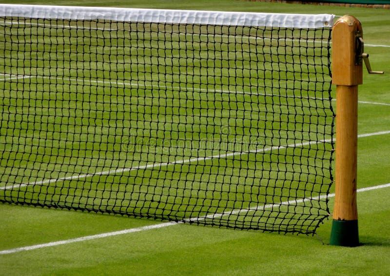 Rete di tennis di Wimbledon fotografia stock