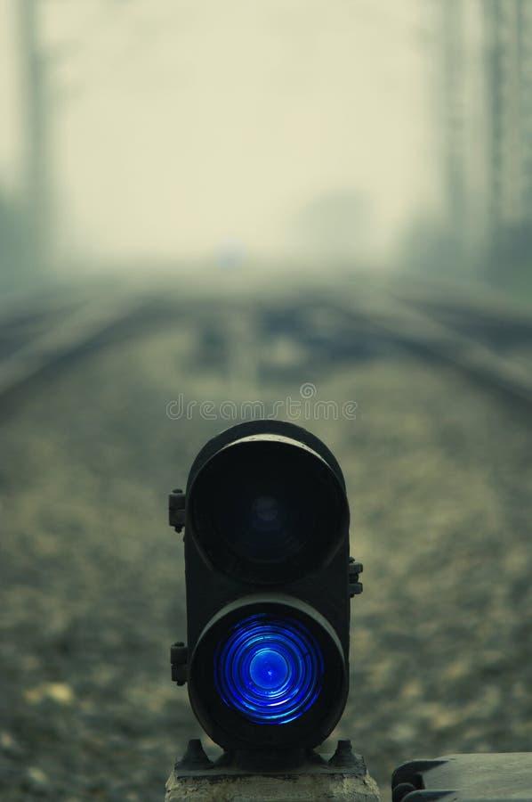 Rete ferroviaria fotografia stock
