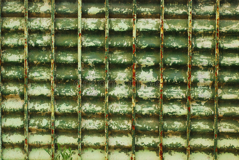 Rete fissa del metallo immagine stock