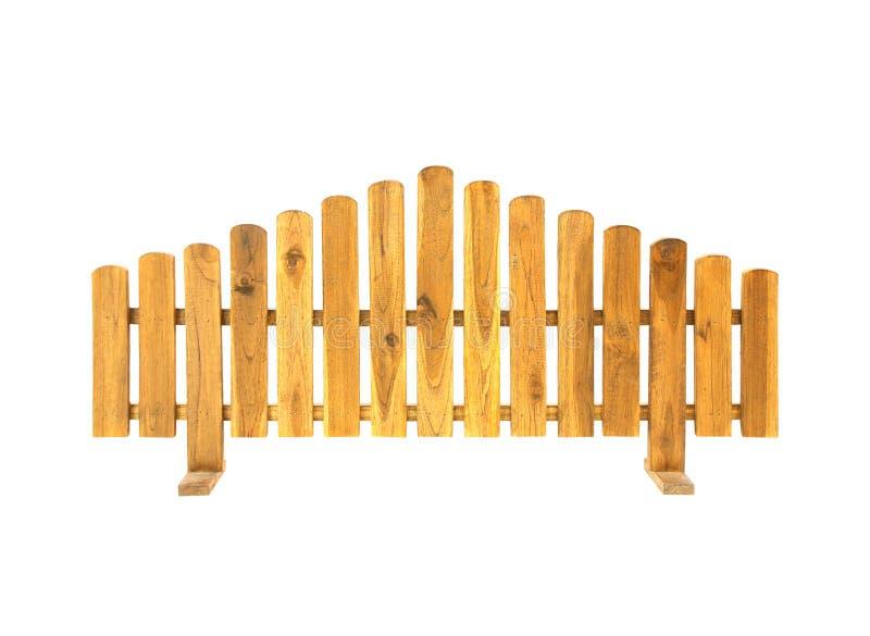 Rete fissa di legno isolata su priorità bassa bianca immagini stock