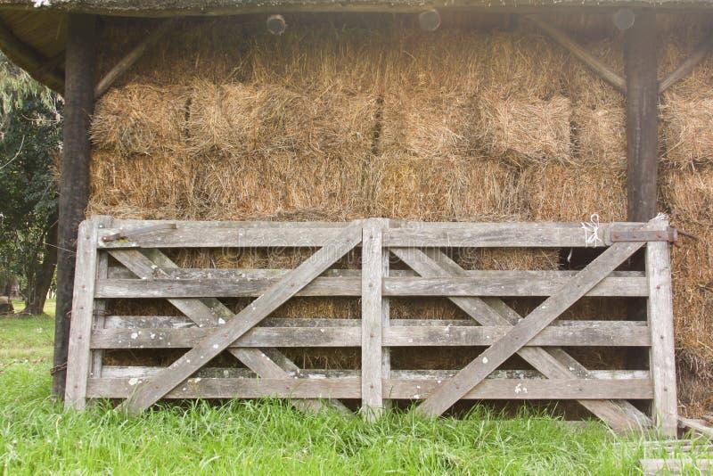 Rete fissa rurale fotografie stock