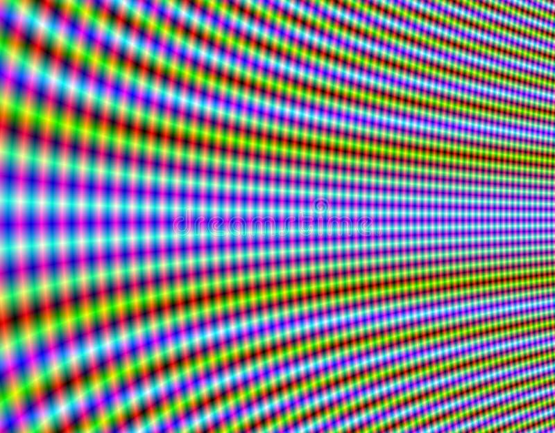 Rete ipnotica illustrazione di stock