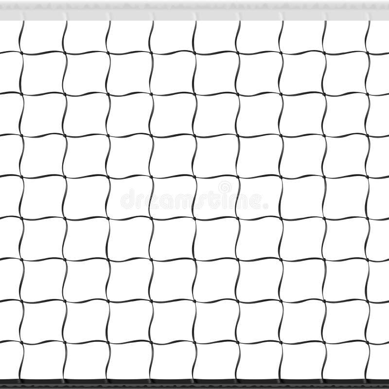 Rete senza giunte di pallavolo illustrazione vettoriale