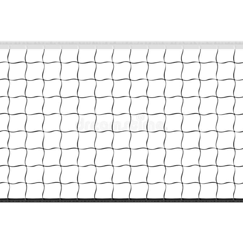 Rete senza giunte di pallavolo illustrazione di stock