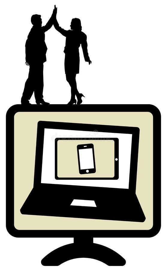 Rete sociale royalty illustrazione gratis