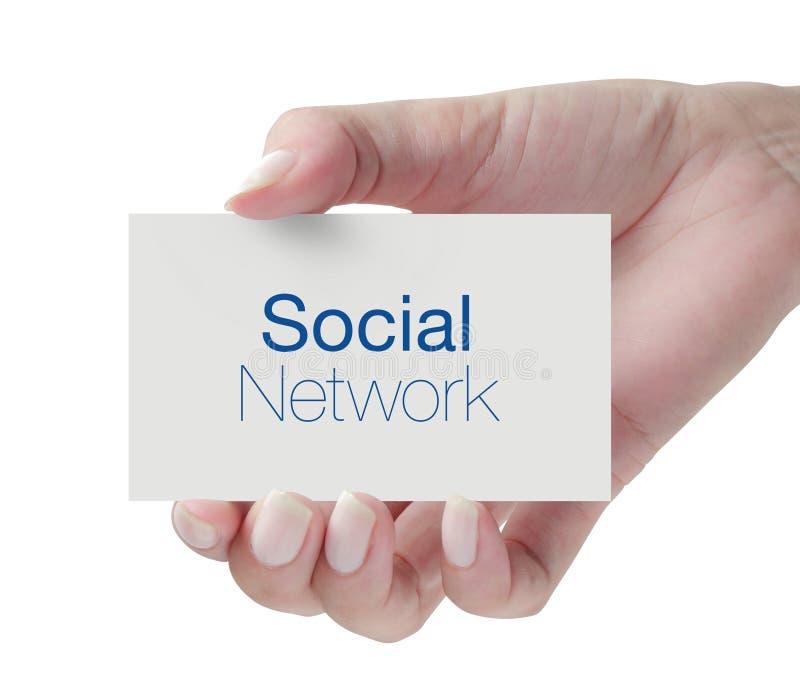 Rete sociale immagini stock