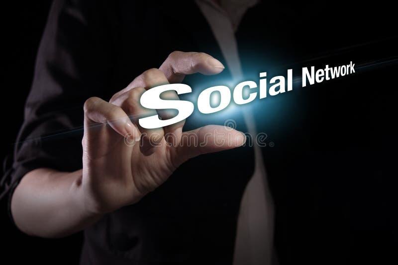 Rete sociale fotografie stock libere da diritti