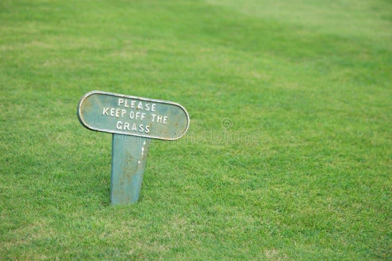Retenez l'herbe photos stock