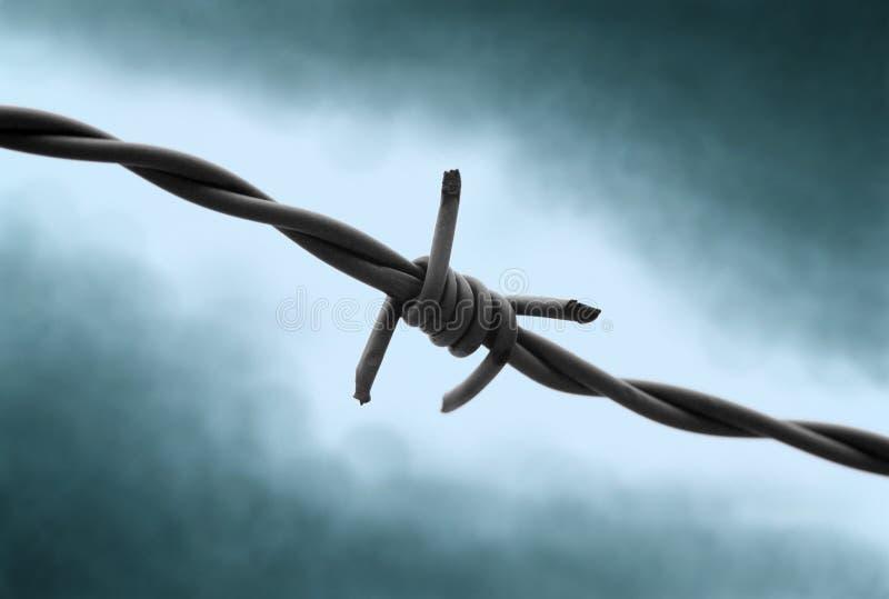 Retenu dans la crainte ! photographie stock libre de droits