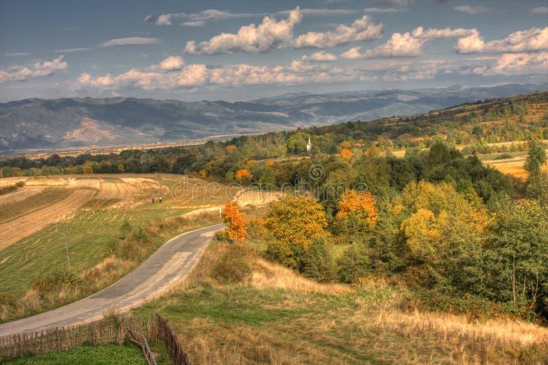 Retezat Landschaft lizenzfreies stockbild