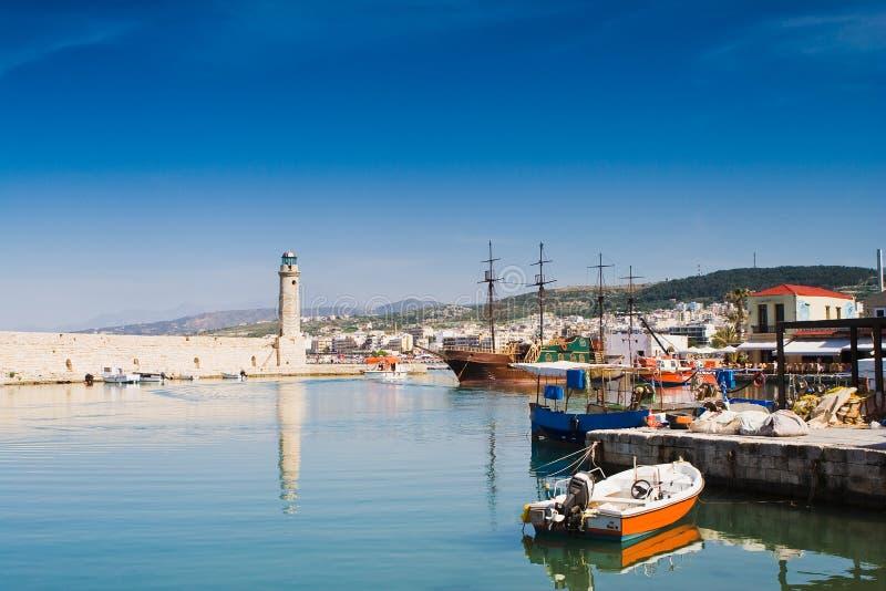 Rethimno, Griechenland stockbild