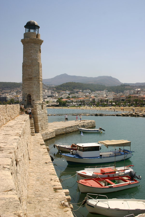 Download Rethymnon, Crete stock photo. Image of blue, crete, summer - 623180
