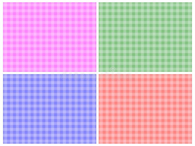 Reticoli Checkered illustrazione vettoriale