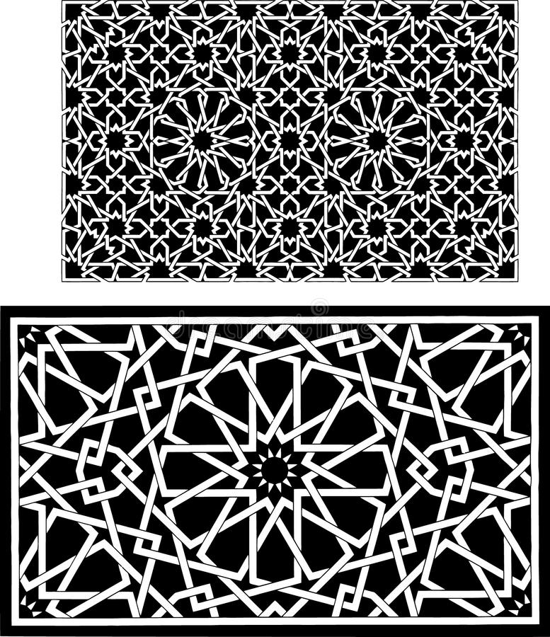 Reticoli islamici royalty illustrazione gratis