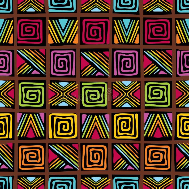 Reticolo africano illustrazione vettoriale