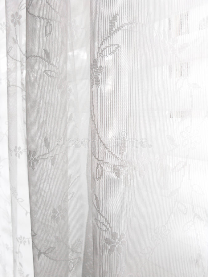 Reticolo astratto bianco dei ciechi di finestra del merletto fotografia stock libera da diritti