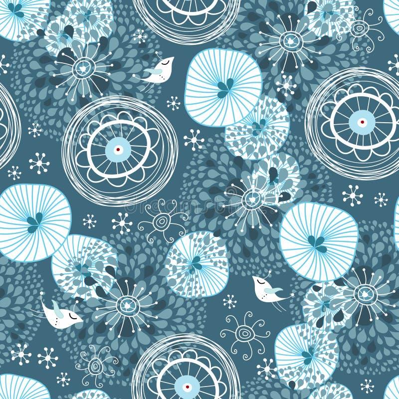 Reticolo astratto di inverno royalty illustrazione gratis