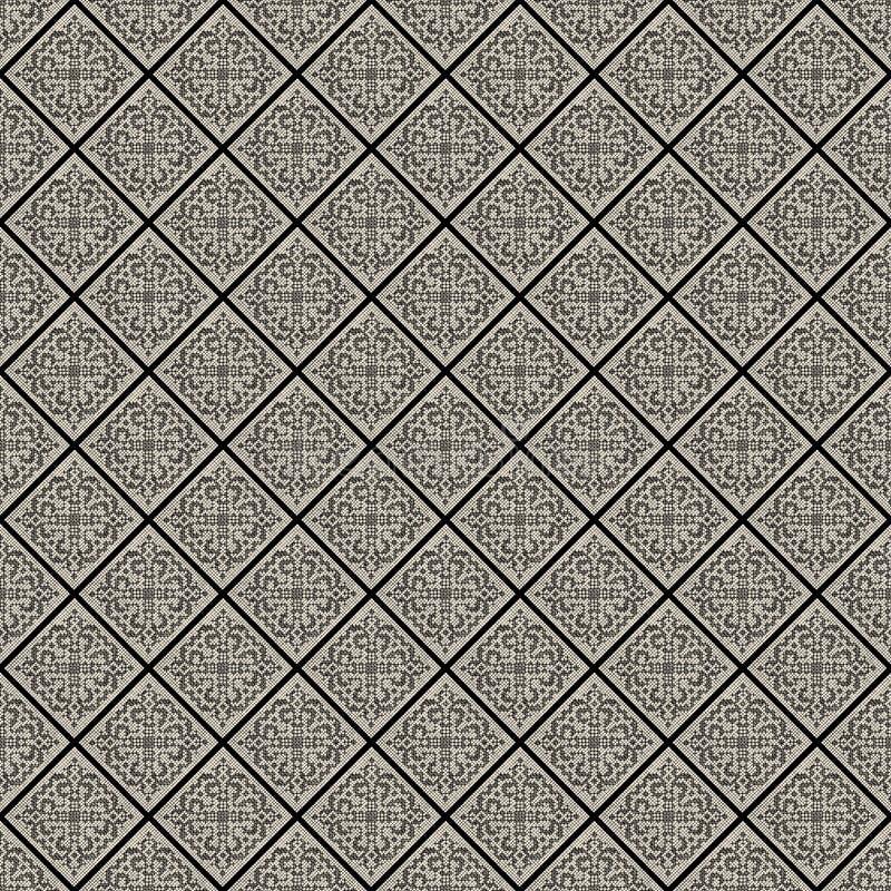 Reticolo in bianco e nero della priorità bassa del merletto dell'annata royalty illustrazione gratis