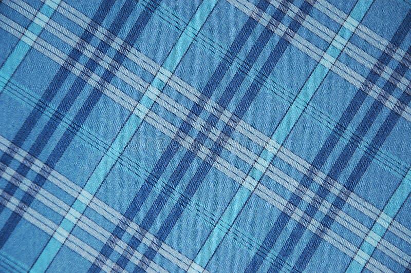 Reticolo blu del plaid fotografia stock libera da diritti