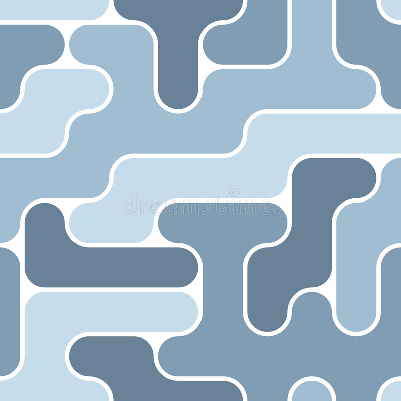 Reticolo blu senza giunte illustrazione vettoriale