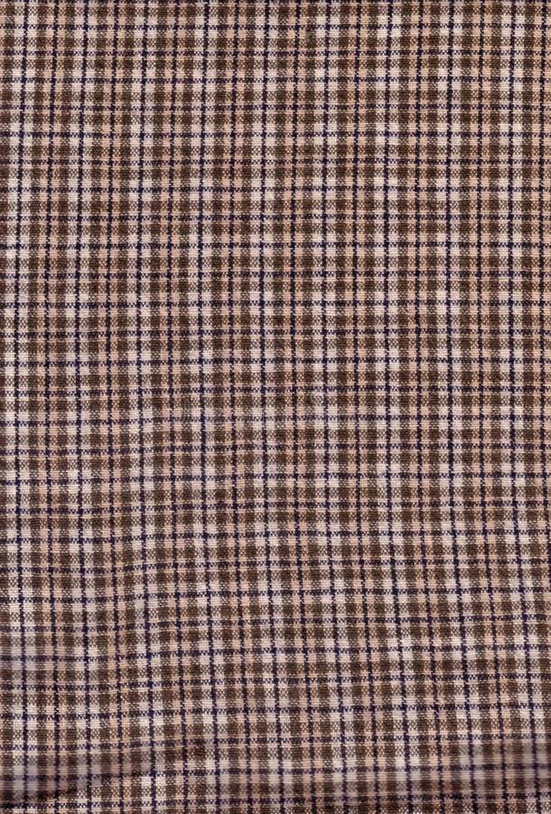 Reticolo Checkered del Brown fotografie stock