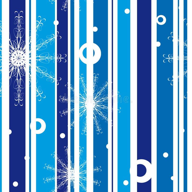 Download Reticolo Con I Fiocchi Di Neve Illustrazione Vettoriale - Illustrazione di vigilia, freddo: 7300196