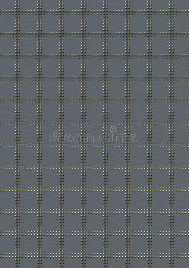 Reticolo d'acciaio illustrazione vettoriale