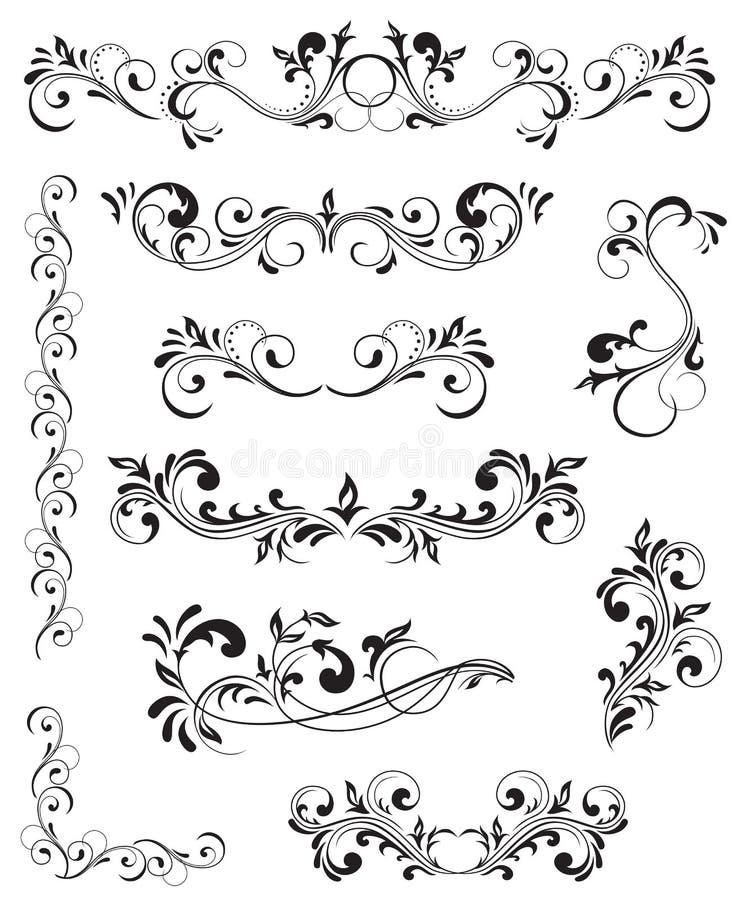Reticolo decorato illustrazione vettoriale