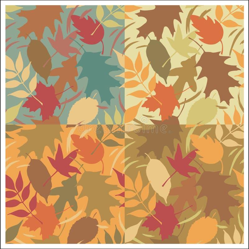 Reticolo dei fogli di autunno