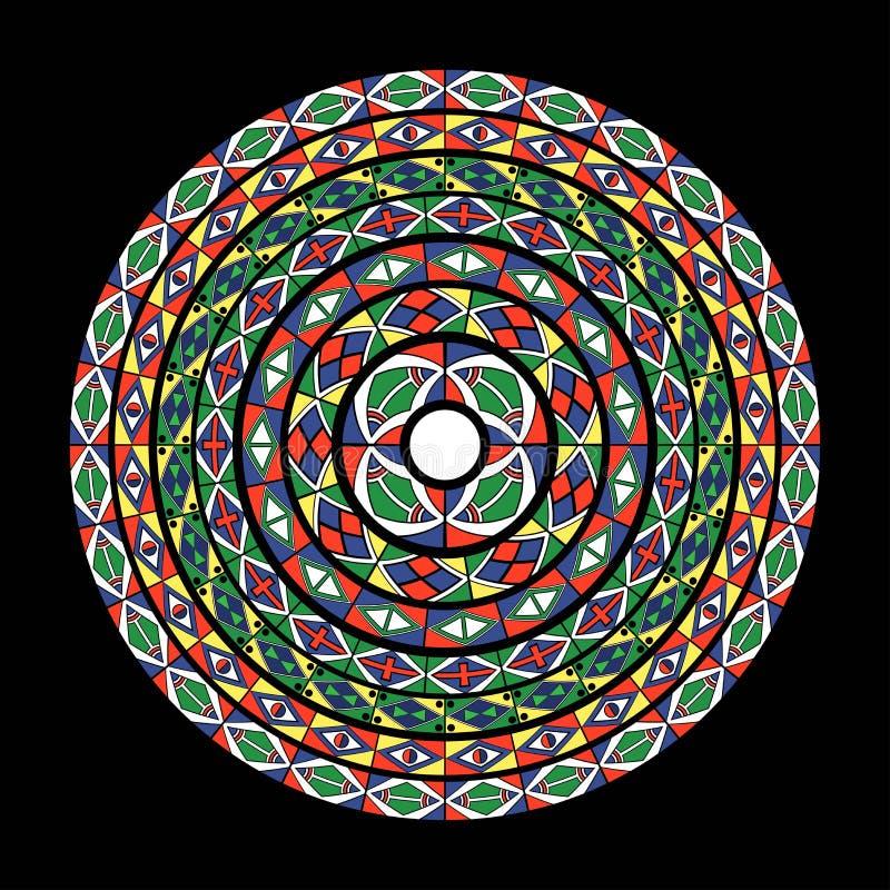 Reticolo del cerchio royalty illustrazione gratis