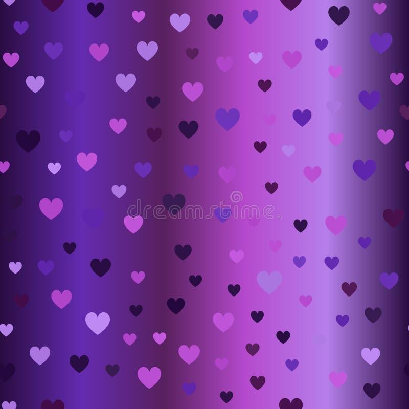 Reticolo del cuore Vettore senza giunte royalty illustrazione gratis