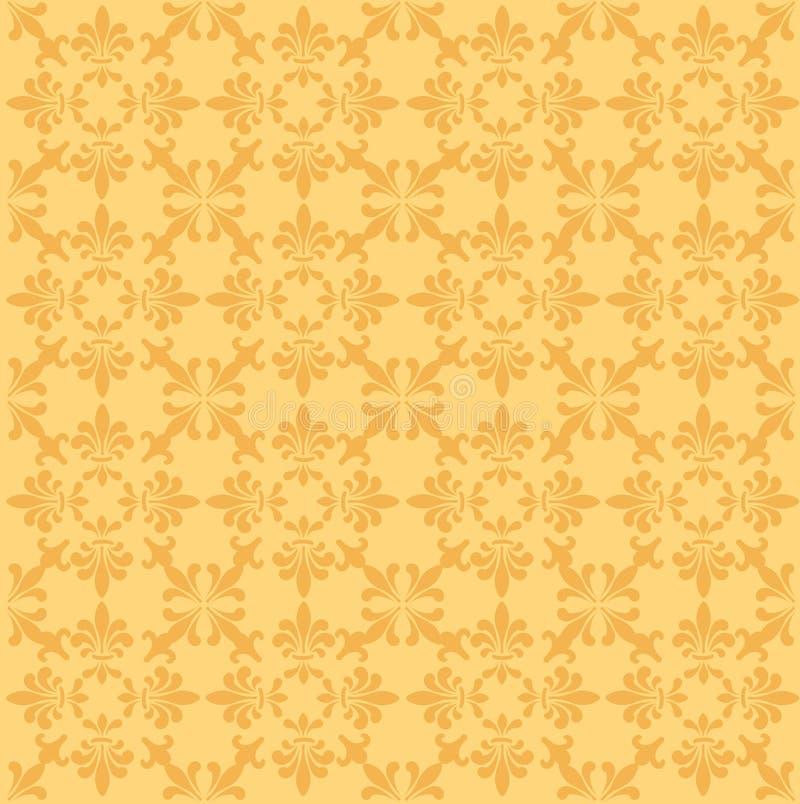 Reticolo del damasco illustrazione vettoriale