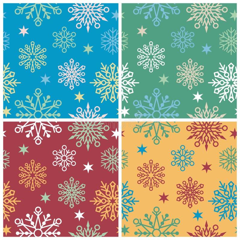 Reticolo del fiocco di neve illustrazione vettoriale