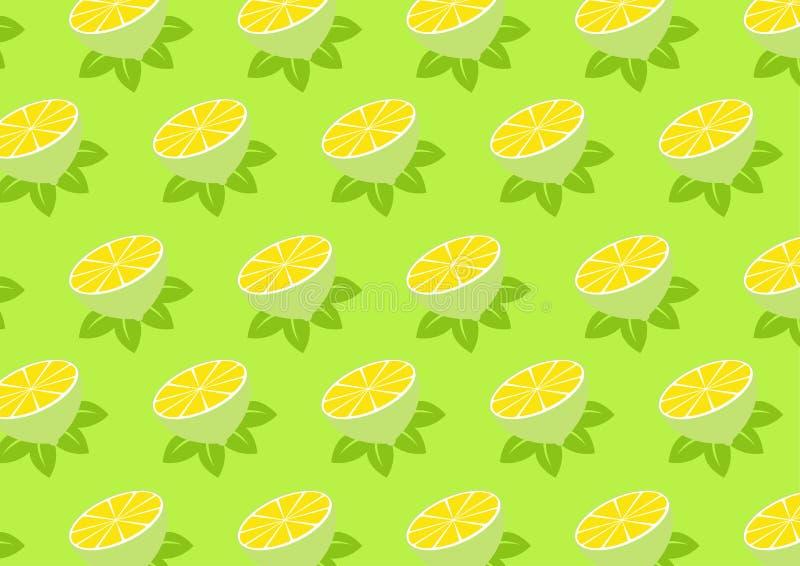 Reticolo del limone royalty illustrazione gratis