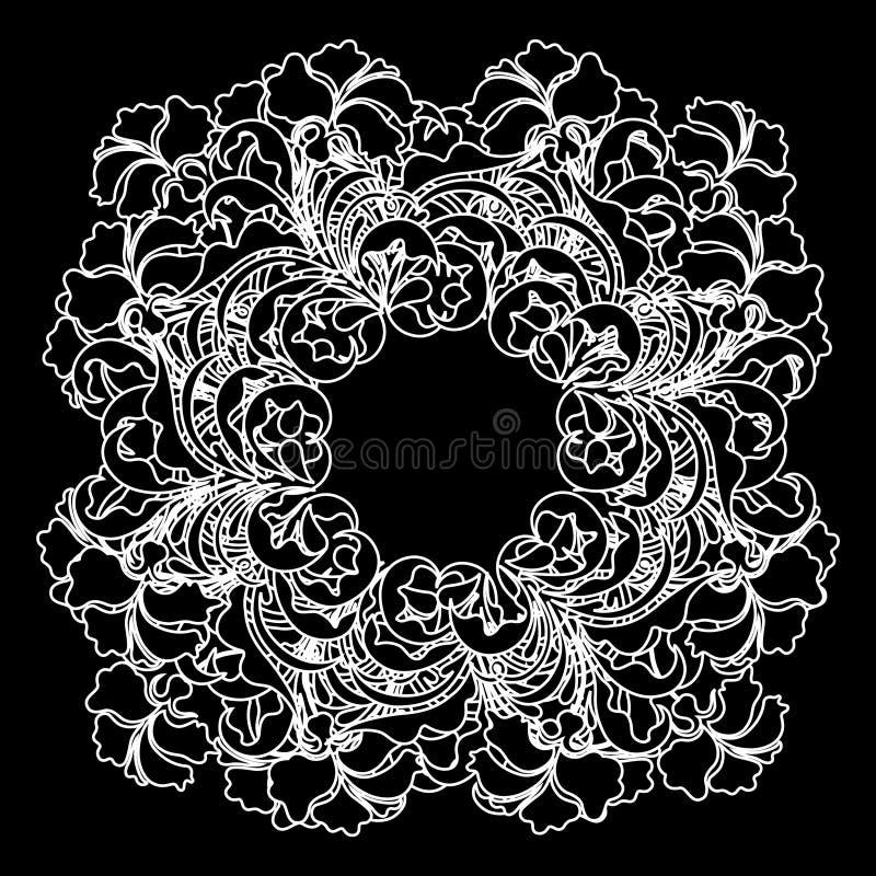 Reticolo del merletto di vettore illustrazione vettoriale