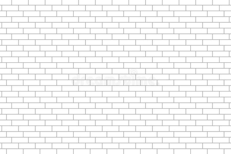 Reticolo del muro di mattoni illustrazione vettoriale