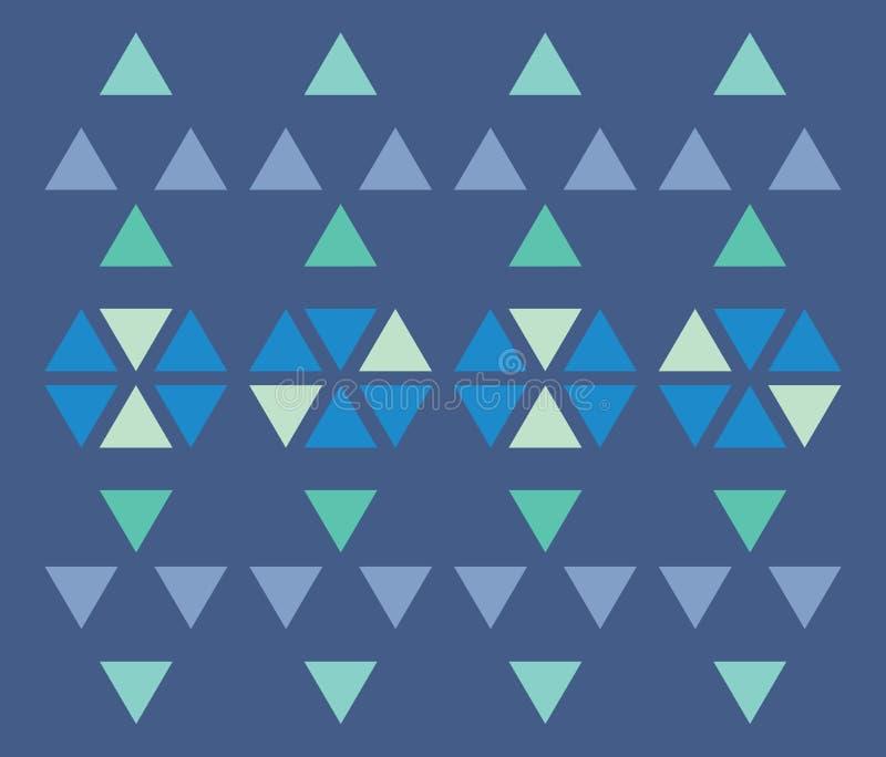 Reticolo del triangolo immagini stock