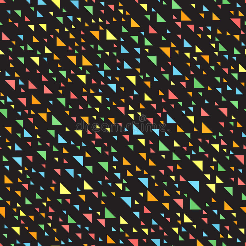 Reticolo del triangolo Vettore senza giunte illustrazione vettoriale